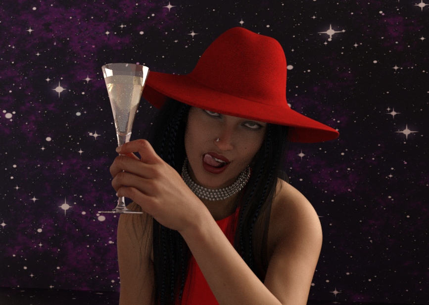 Elle dit champagne