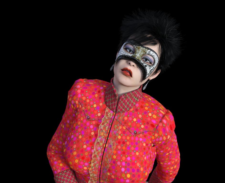 La jongleuse masqué